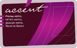 Carte Accent Inter Hotel du Parc Cavaillon